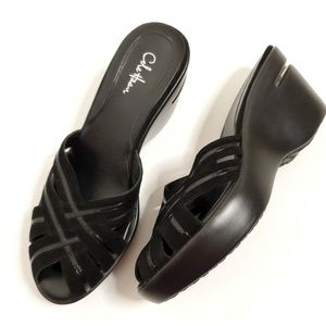 Cole Haan Black Nike Air Women's Wedges Size 7
